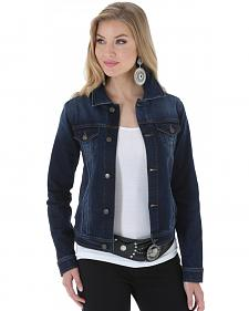 Wrangler Women's Denim Button Front Jacket