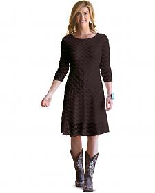 Wrangler Rock 47 Women's Chocolate Lace Dress
