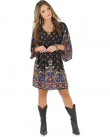 Wrangler Women's Regal Print Mini Dress