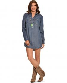 Cowgirl Justice Women's Durango Tencel Denim Tunic Dress