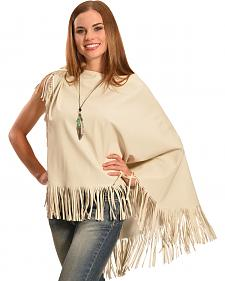 Cowgirl Justice Women's Mariah Fringe Poncho
