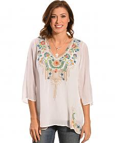Johnny Was Women's Tropic Blouse