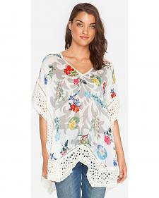Johnny Was Women's Boho Poncho
