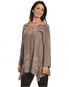 Tasha Polizzi Grey Women's Ashley Tunic