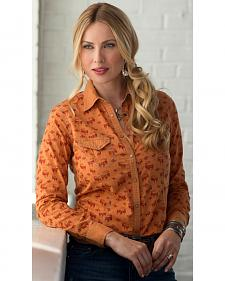 Ryan Michael Women's Southwest Ibex Shirt