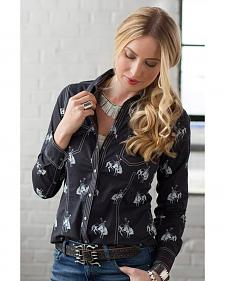 Ryan Michael Women's Bucking Horse Shirt