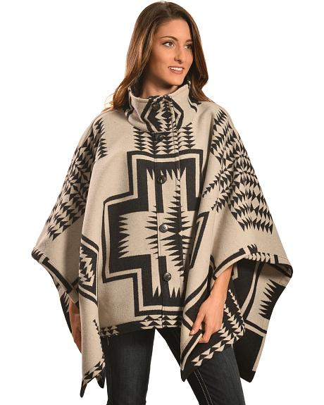 Pendleton Women's Reversible Chaparral Cape