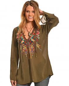 Johnny Was Women's Serendipity Blouse