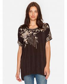 Johnny Was Women's Brown Oasis Blouse