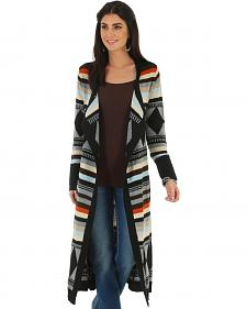 Wrangler Women's Long Aztec Cardigan