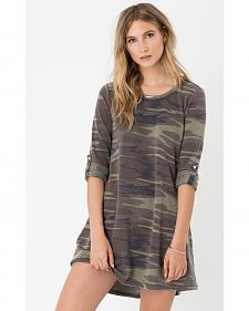Z Supply Women's Camo Symphony Dress