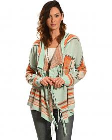 Tasha Polizzi Women's Blue Arizona Cardigan