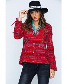 Ryan Michael Women's Beacon Blanket Jacket