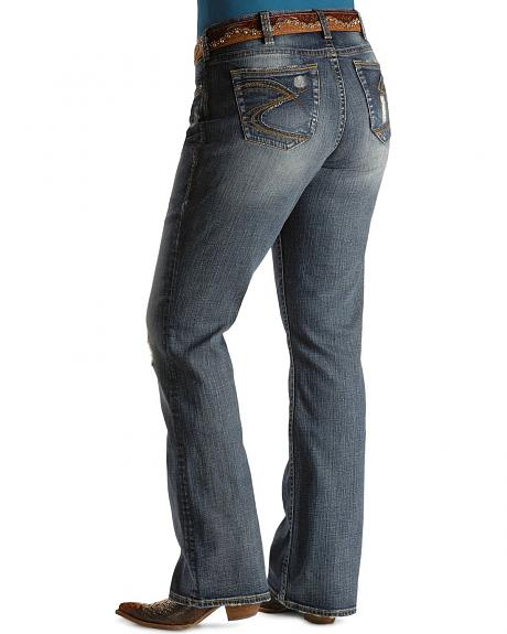 Silver Jeans - Pioneer Low Rise Boot Cut - Plus