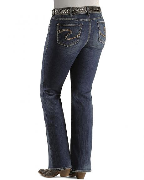 Silver Jeans - Suki Low Rise Boot Cut - Plus