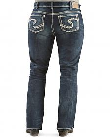 Silver Jeans - Suki Mid Rise Slim Bootcut - Plus