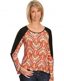 Lawman Flirty Color Block Top - Plus