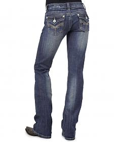 Stetson Women's 818 Rhinestone Bootcut Jeans - Plus