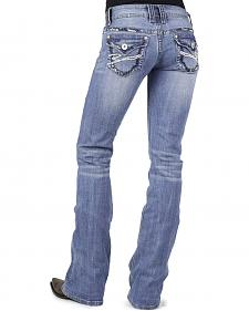 Stetson 818 Flap Back Pocket Jeans - Plus Size