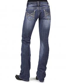 Stetson Women's 818 Contemporary X-Stitch Bootcut Jeans - Plus
