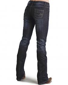 Stetson Women's 818 Fit Contemporary Rhinestone Bootcut Jeans - Plus