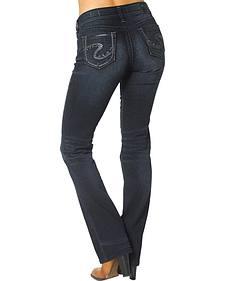 Silver Jeans Suki Mid Rise Slim Fit Bootcut Jeans - Plus Size