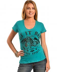 Liberty Wear Women's Let It Ride Tee - Plus