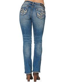 Silver Women's Suki Mid Bootcut Jeans - Plus Size