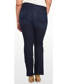 NYDJ Women's Billie Mini Bootcut Premium Denim Jeans - Plus Size