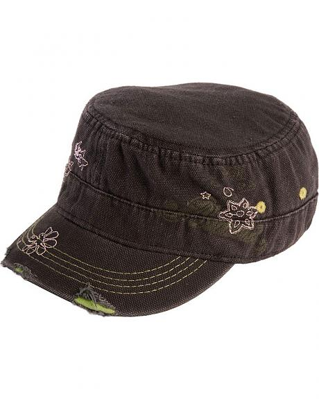 Tin Haul Floral Embroidered Cap