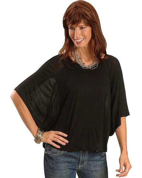 Panhandle Slim Batwing Sleeve Top