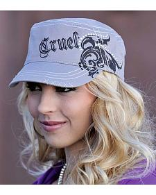Cruel Girl Rhinestone Military Cap