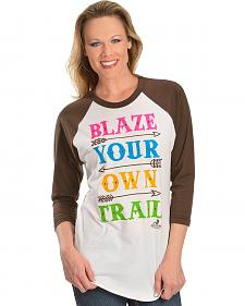 Ali Dee Blaze Your Own Trail Tee