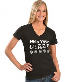 "Cowgirl Justice ""Hide Your Crazy"" Tee"