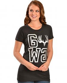 Girls With Guns GWG Buck Tee Squared T-Shirt
