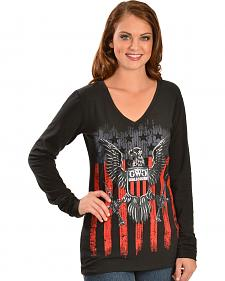Girls With Guns 2nd Amendment Long Sleeve T-Shirt