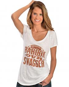"ATX Mafia ""Pardon Our Swagger"" Tee - Burnt Orange"