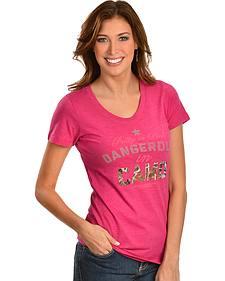 "Redneck Riviera ""Pretty in Pink - Dangerous in Camo"" Tee"