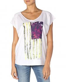 Miss Me Women's Flag Graphic Tee