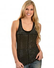 Petrol Women's Studded Racer Back Tank