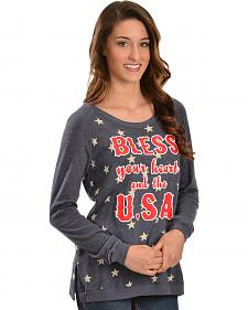 "ATX Mafia ""Bless Your Heart And The U.S.A."" Long Sleeve Shirt"