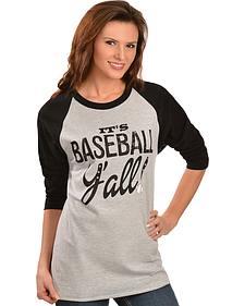 "ATX Mafia ""It's Baseball Y'all!"" Baseball Tee"