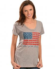 "ATX Mafia ""Land of the Dreamer"" American Flag Tee"