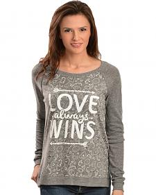 "ATX Mafia ""Love Always Wins"" Long Sleeve Shirt"