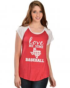 Katydid Women's Love Me Some Baseball Tee