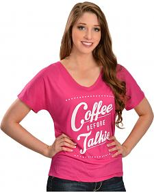 Katydid Coffee Before Talkie Tee