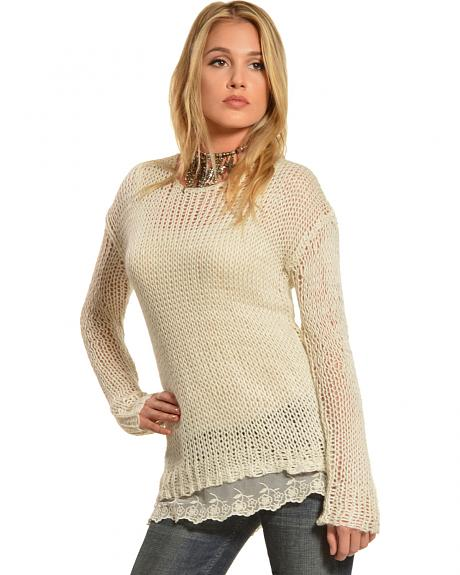 Others Follow Peyton Knit Pullover Sweater