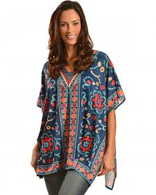 Flying Tomato Women's Printed Kaftan Tunic