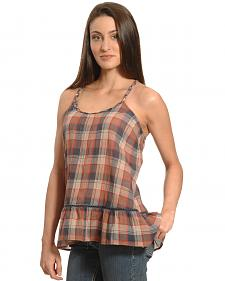 Others Follow Women's Traveled Roads Dress Blues Top