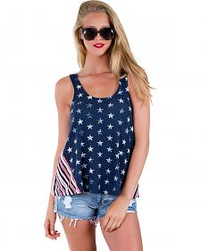 Others Follow Women's Liberty Stars Tank Top